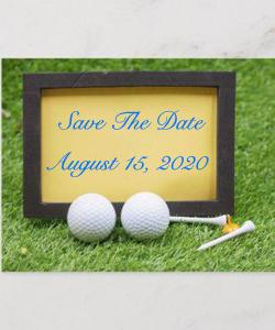 Golf Tournament Save the Date 2019