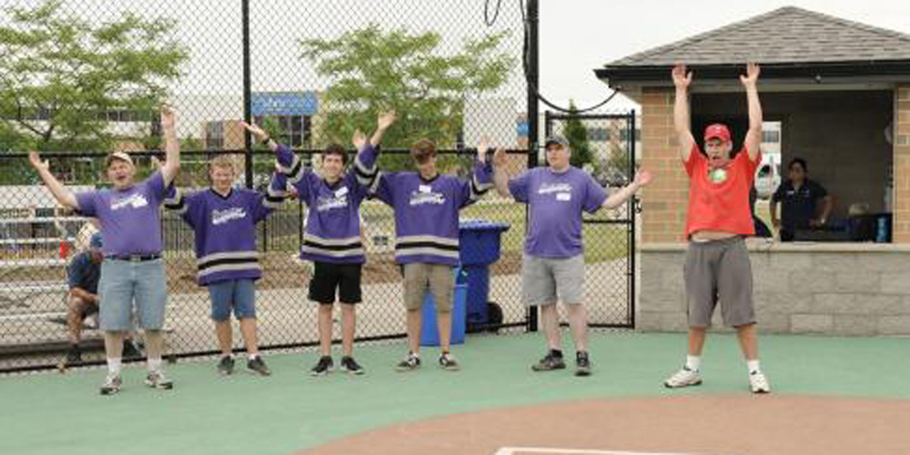 Miracle League is always so much fun when we have lots of fans and fantastic volunteers!