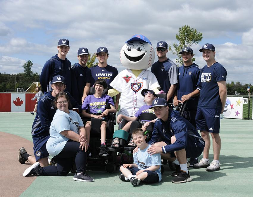 Another wonderful day at the Miracle League.
