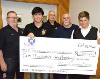 Miracle League wraps up with year-end donations at banquet